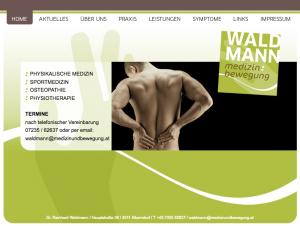 Medizin und Bewegung Dr. Waldmann